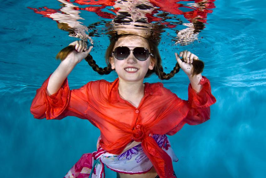 Unterwasser Kinderspass