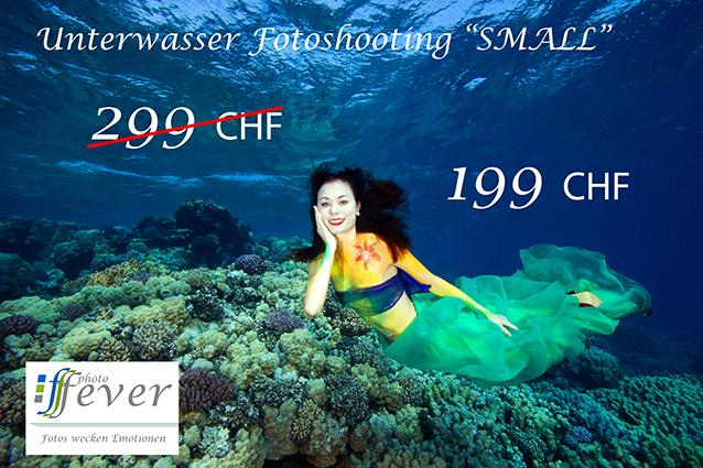 Photofever Gutschein Unterwassershooting