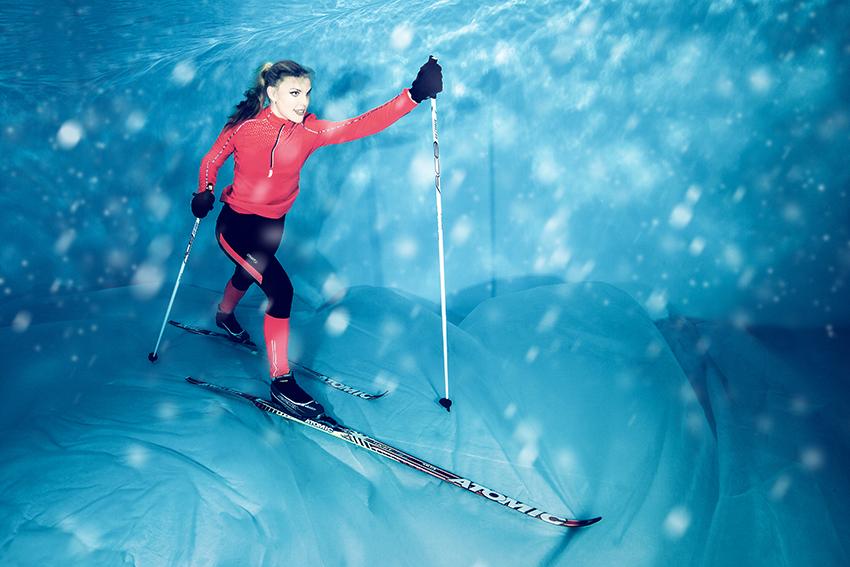 Unterwasser Sport & Hobby - Cross-country skiing